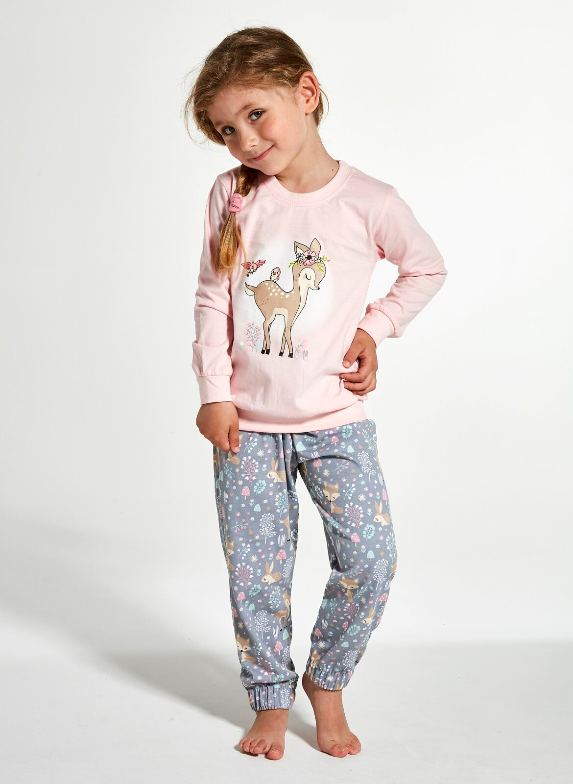 Піжама Cornette Kids Girl 594/122 Roe 86-128, Рожевий, 86-92
