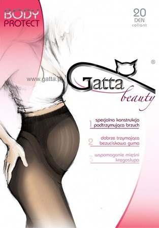 Колготки Gatta Body Protect 20 den, Бежевий, 2-S